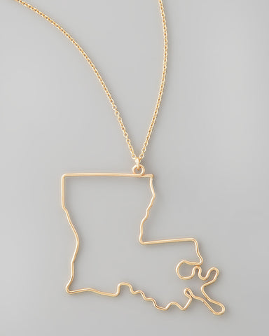 Gauge NYC Louisiana Pendant Necklace