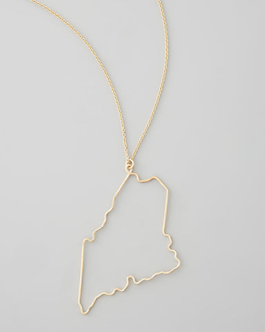 Gauge NYC Maine Pendant Necklace