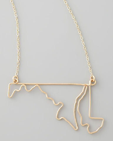 Gauge NYC Maryland Pendant Necklace