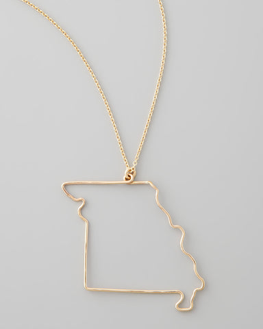 Gauge NYC Missouri Pendant Necklace