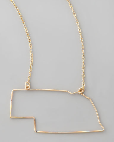 Gauge NYC Nebraska Pendant Necklace