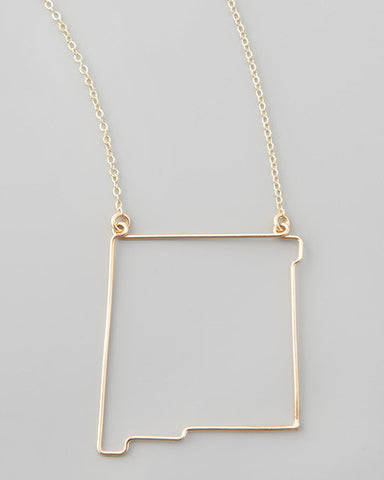 Gauge NYC New Mexico Pendant Necklace