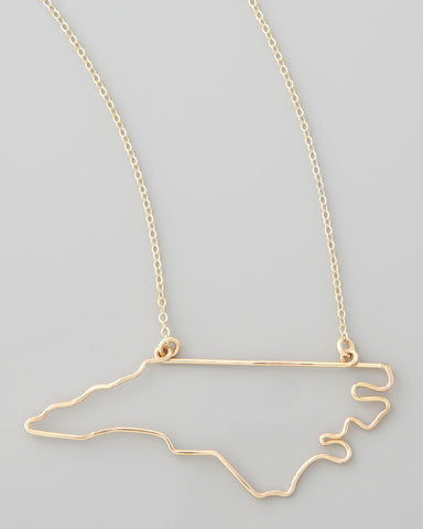 Gauge NYC North Carolina Pendant Necklace