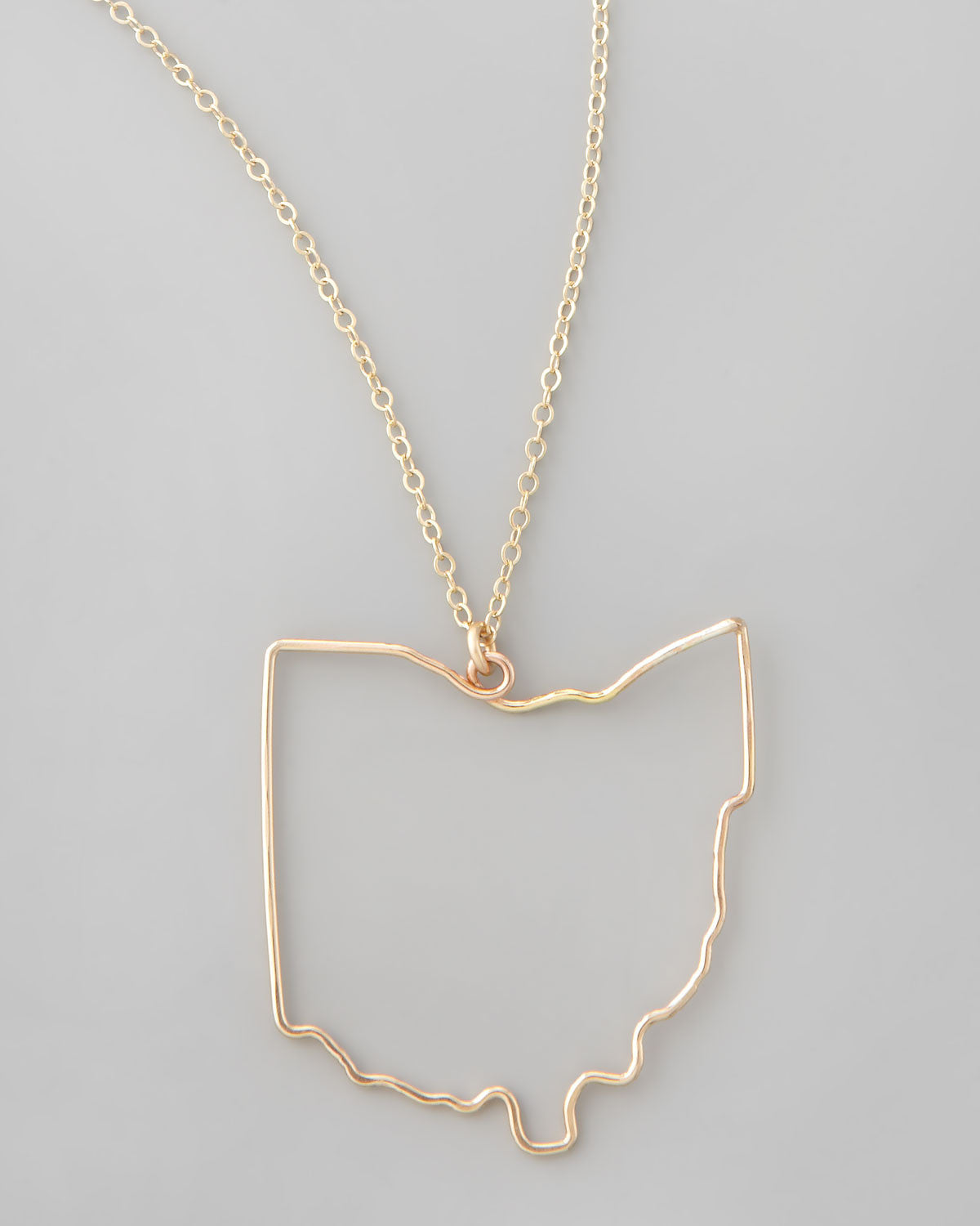 Gauge nyc ohio state pendant necklace favery gold ohio state pendant necklace aloadofball Gallery