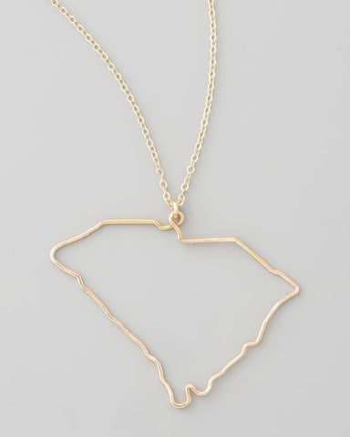 Gauge NYC South Carolina Pendant Necklace