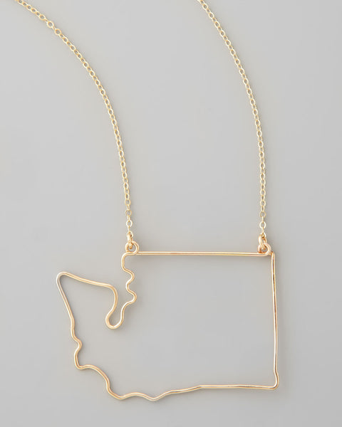 Gauge NYC Washington Pendant Necklace