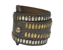 Amalia Leather Wrap Bracelet