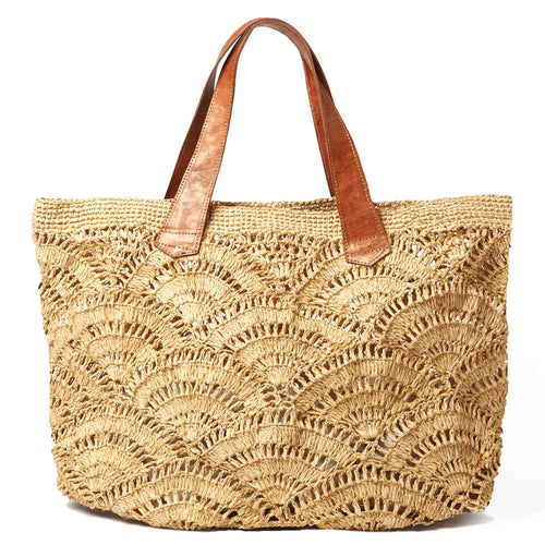 Tulum Crocheted Carryall Bag