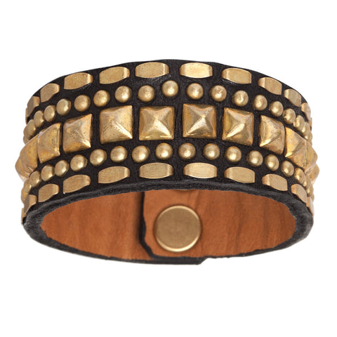 Petra Leather Cuff Bracelet