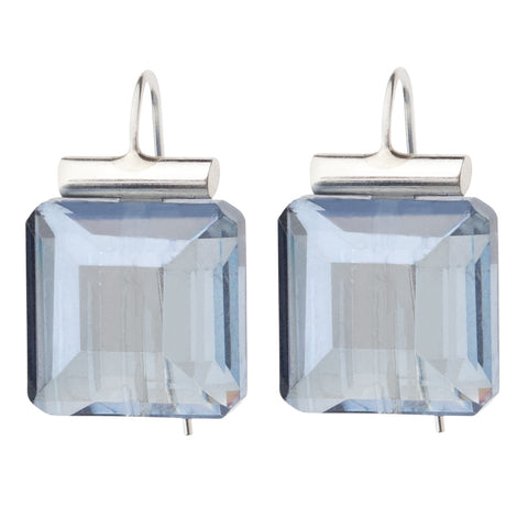 3-Stone Diamond Dangle Earrings