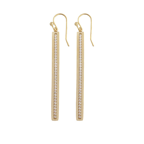 14k Gold Lace Hoop Earrings
