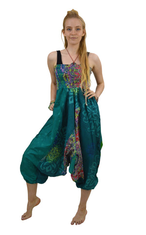 Baggy Pants Colourful Romper