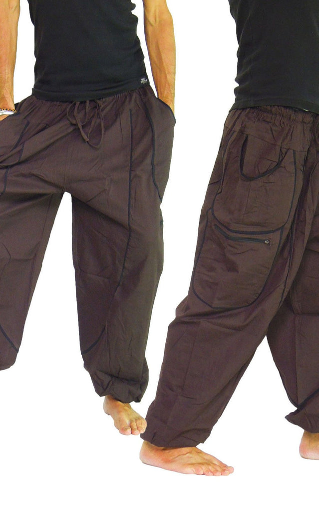 Zip Pocket Cargo Pants