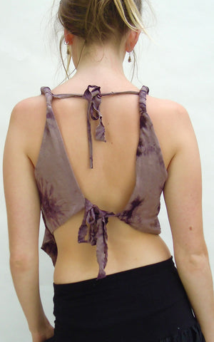 Pixie top adjustable Backless