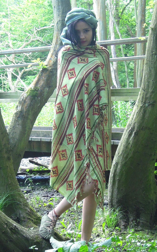 Shawl, Tribal Print,  Lungi, Sarong, Beach Wrap,