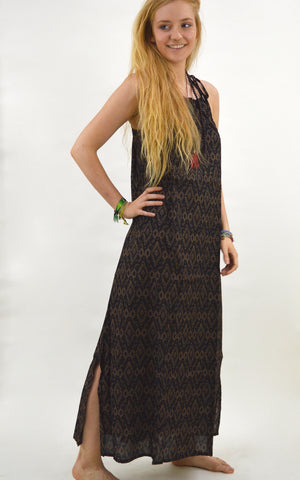 Karma Printed Maxi Dress