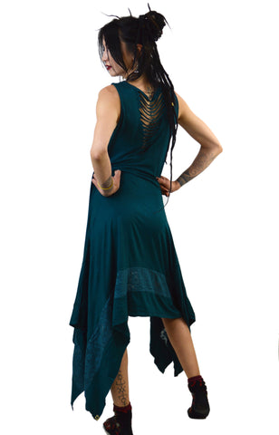 Maxi Kurta Sleeveless Goddess Dress