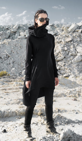 Hooded Cape Poncho