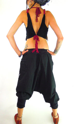 Doubled fronted Heathern Pants