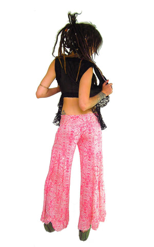 Frilly Flares Silk