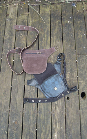 belt leather holster jagged edge