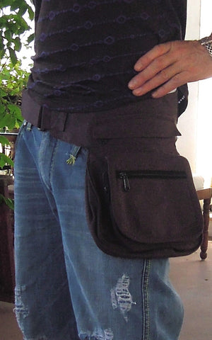 Zipper Pocket Belt