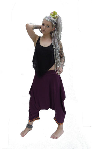 Tribal Hem Jester Pants