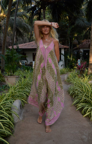 Boho Beach Jumpsuit