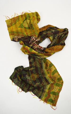 Silk Scarf Gypsy Threads