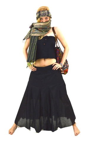 long gypsy skirt
