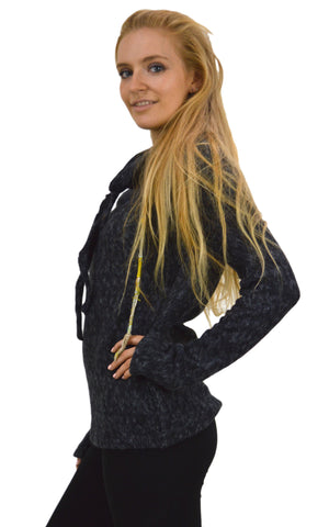 Snug Fit Polo Neck Jumper