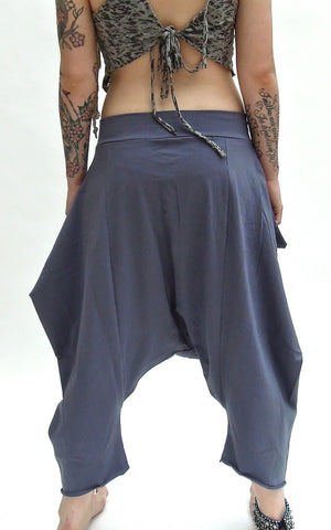 Baggy Stretch Pointy Harem Pants