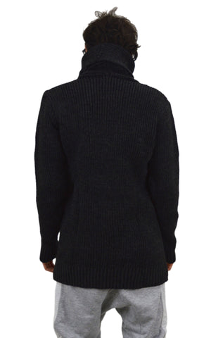 Zip Poloneck Jumper