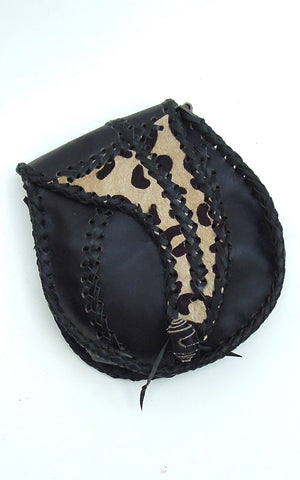 Cow Girl Aged leather Handbag