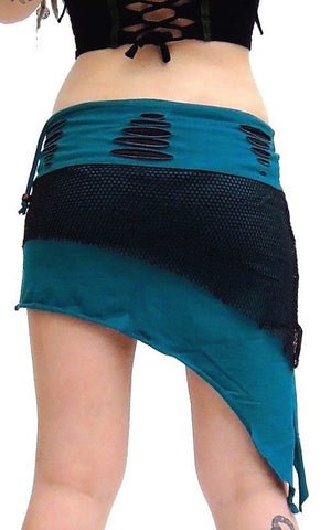 Pixie pointy Mini Skirt
