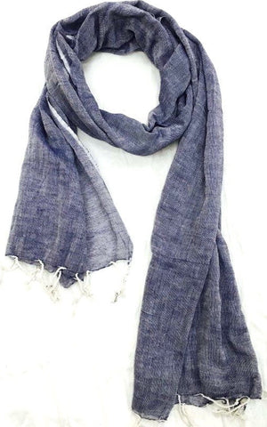 Scarf Natural Organic  Cotton.