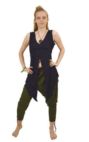 Waist coat Vest Split way Shrug