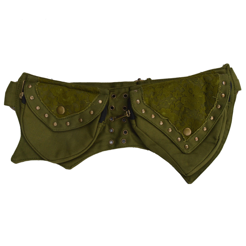 Pixie Pocket belt with Lace