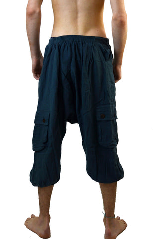 3/4 baggy low crotch Gypsy Pants