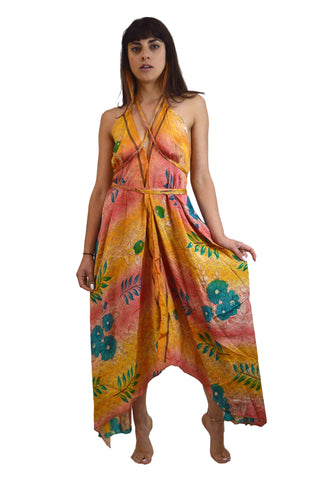 BOHO SILKY BEACH DRESS