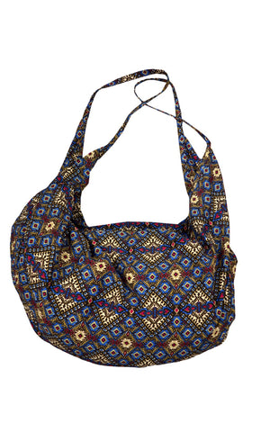 Shoulder Bag, Beach Bag, Printed Boho Hippie Chic,