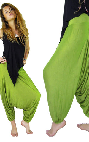 Stretch Harems Baggy Pants