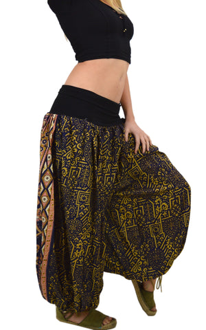 Silk Harem Gypsy Pants