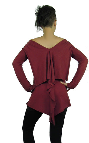 Long Sleeve Ruffle Tunic JUMPER