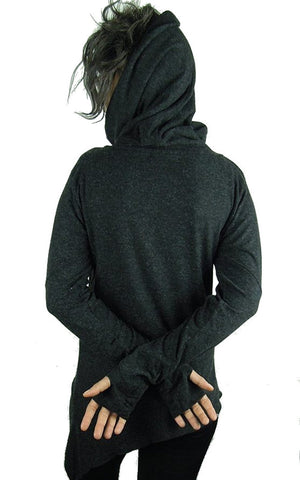 Turtleneck Poloneck Sweater Hoody