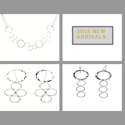 sterling silver circle collection