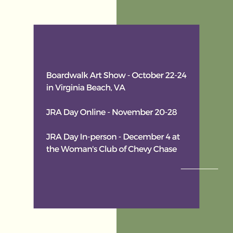 list of art shows for Candace Stribling Jewelry