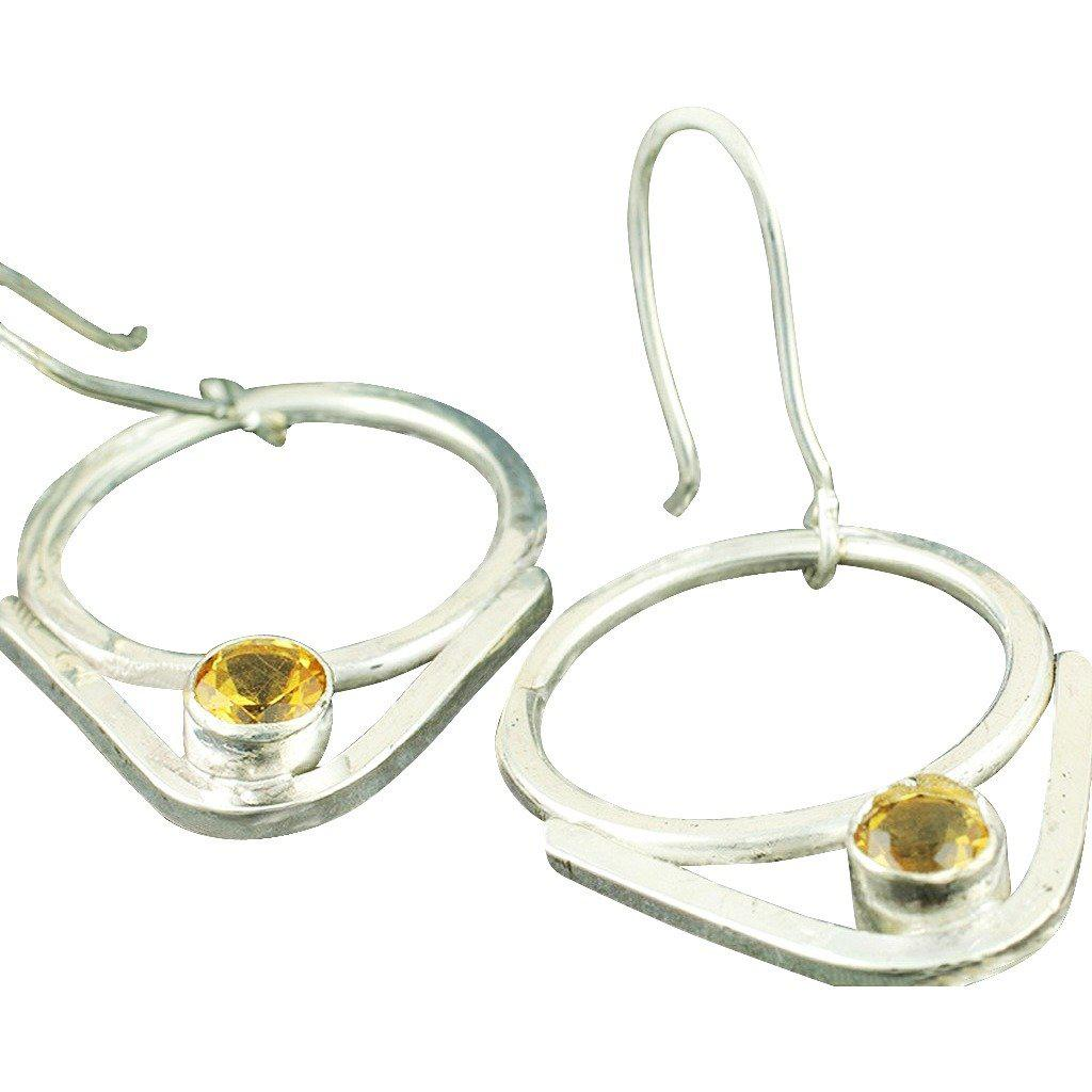 Sterling Silver V Signature Earrings - Candace Stribling Jewelry