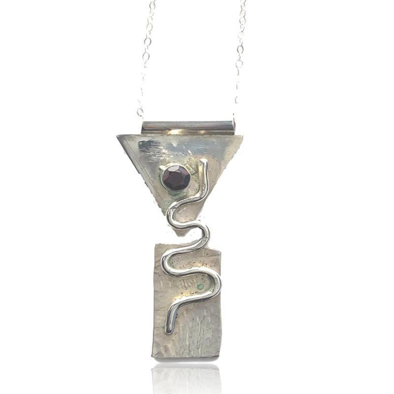 Sterling Silver Empower Necklace - Candace -Stribling- Jewelry
