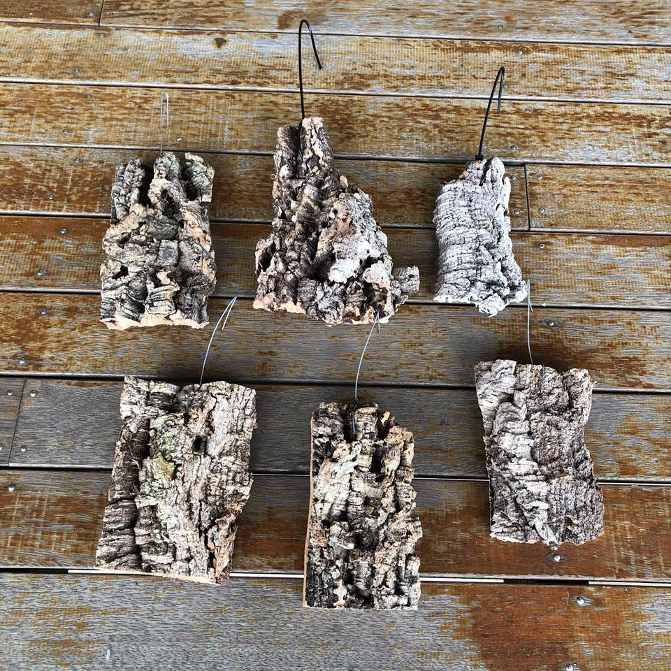Cork Bark Hanger